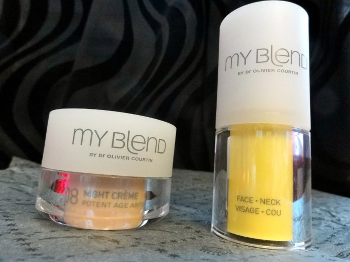 Royal Monceau - Spa My Blend products