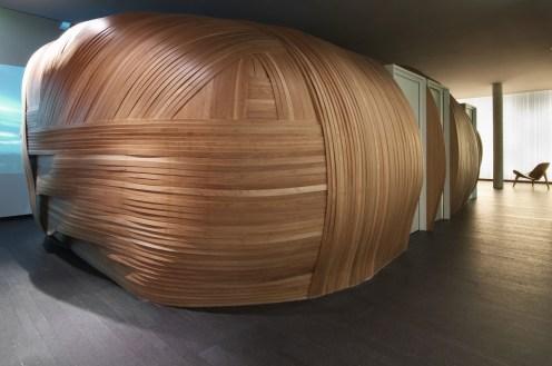 Six Senses Paris - Wooden alcove
