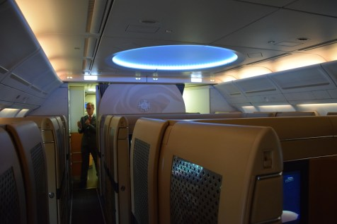 Etihad Airways Diamond First Class cabin