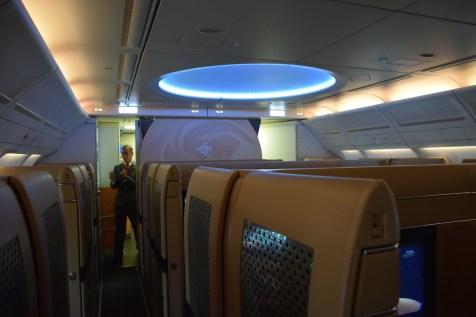 Etihad Airways Diamond First Class cabin