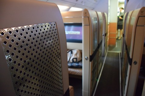 Etihad Airways Diamond First Class corridor