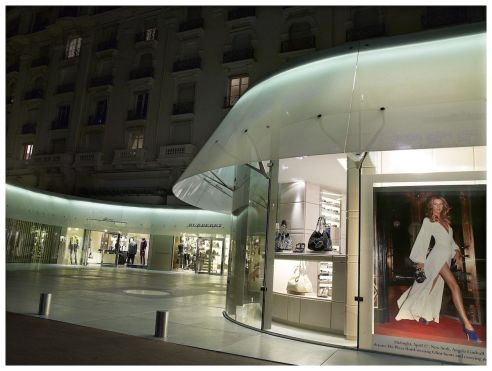 Cannes luxury shopping