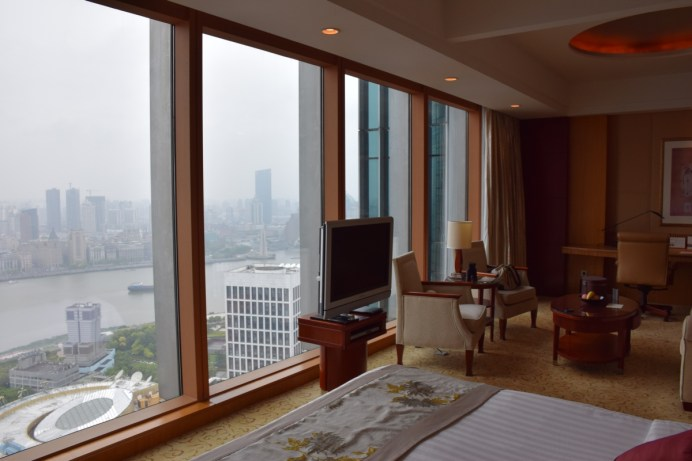 Pudong Shangri-La - Grand Tower Room - by day
