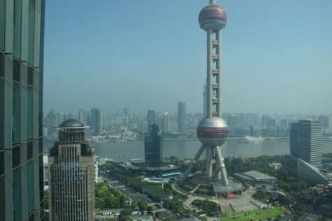 Pudong Shangri-La - Grand Tower - View from corridors