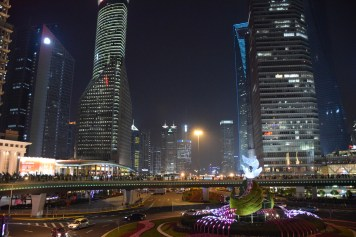 Shangha - Pudong district by night