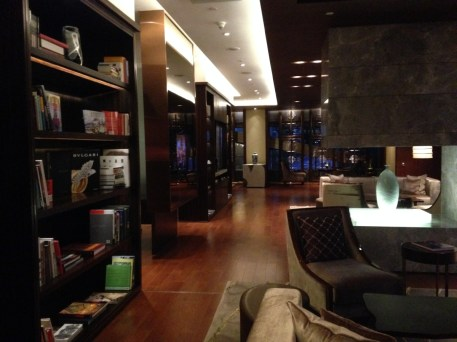 Mandarin Oriental Shanghai - The Club lounge