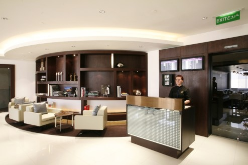 Etihad Airways First Class Lounge - Entrance