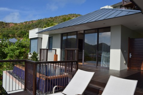 Raffles Praslin - Panoramic Villa terrace 3