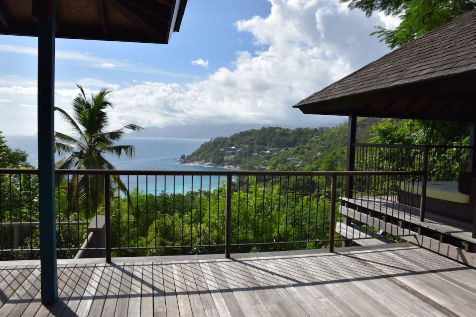 Four Seasons Seychelles - Hilltop Villa terrace