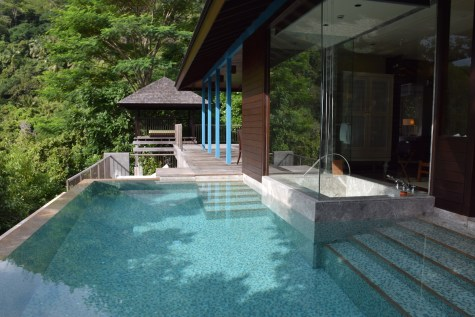 Four Seasons Seychelles - Hilltop Villa terrace 2