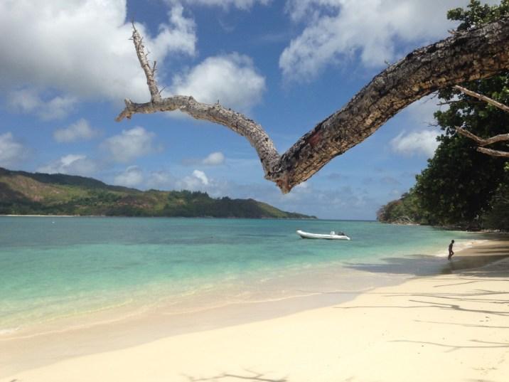 Seychelles - Ile Curieuse beach