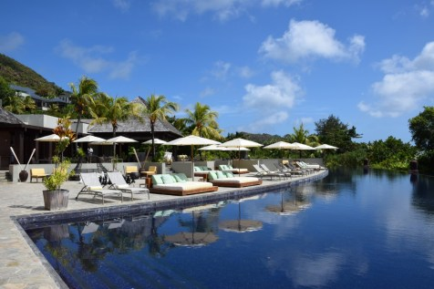 Seychelles - Raffles Praslin pool