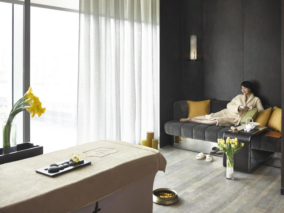 Jing An Shangri-La - Spa treatment room