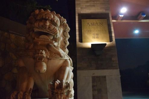 Aman at Summer Palace - Resort entrance