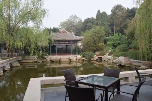 Aman at Summer Palace - Reflection Pavilion terrace