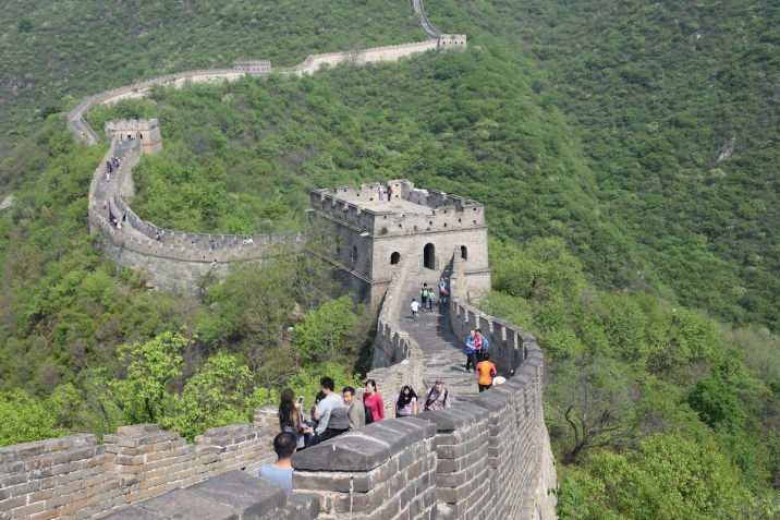 Tour of China - Beijing China Great Wall at Mutianyu 3