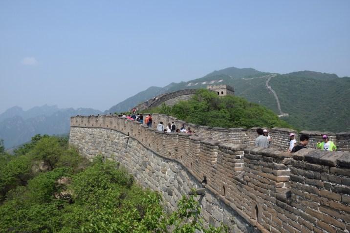 Tour of China - Beijing China Great Wall at Mutianyu 4