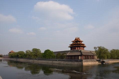 Tour of China - Beijing Forbidden City North-West corner