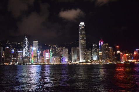 Hong Kong - Central skyline from Kowloon