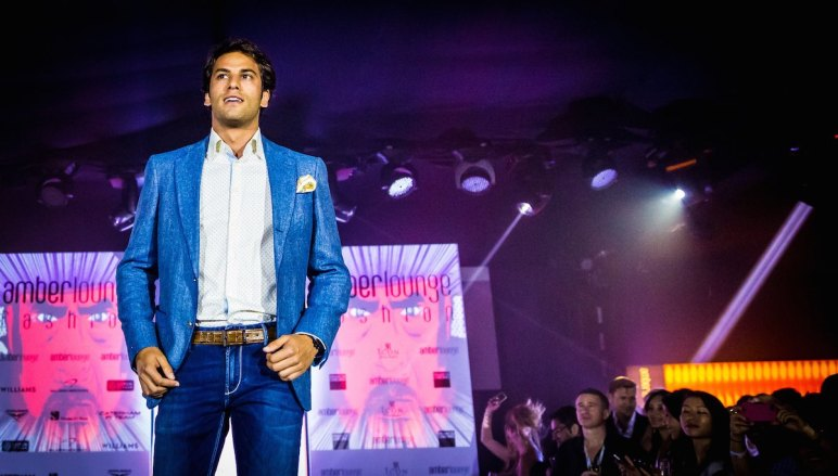 Felipe Nasr Amber Lounge Fashion