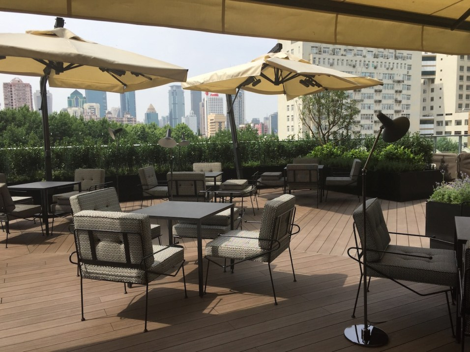 Gucci Restaurant Shanghai - Terrace