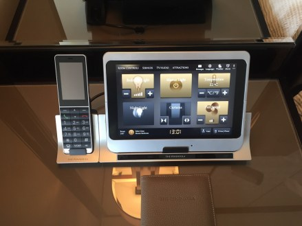 Peninsula Hong Kong - Deluxe Harbour View Suite touch-screen