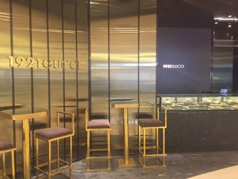 Gucci Restaurant Shanghai - Entrance