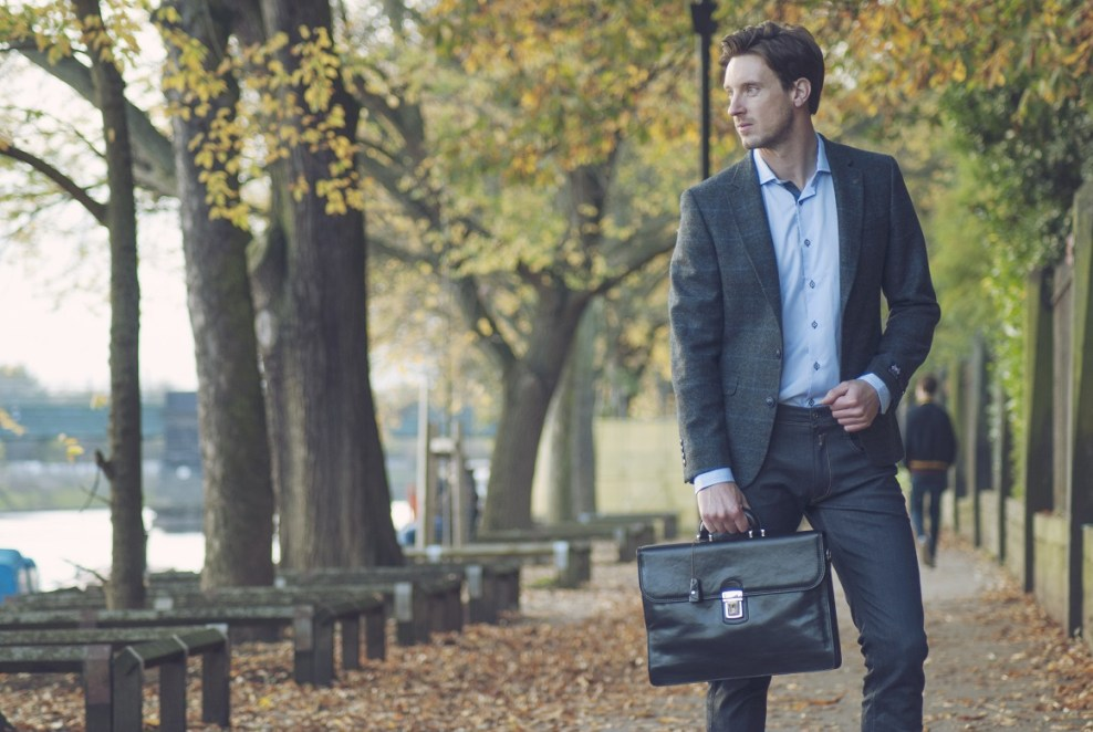 The Paolo men handbag - Picture by Maxwell Scott Bags