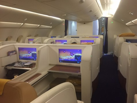 Thai Airways A380 Royal First Class - First Class cabin