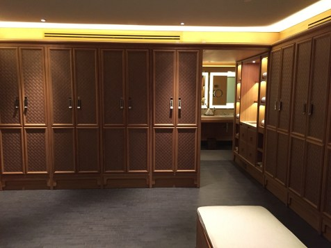 Peninsula Paris Spa - Men cloakroom