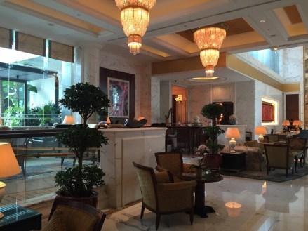 Shangri-La Singapore - Valley Wing lobby
