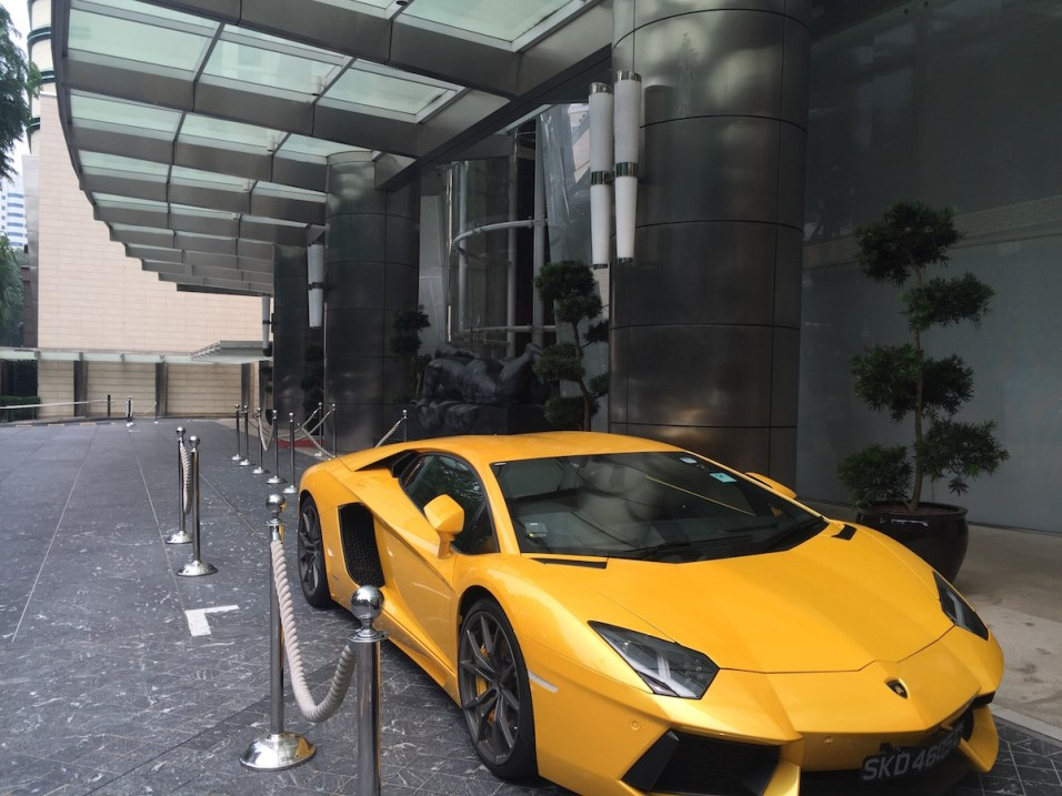 St Regis Singapore - Entrance
