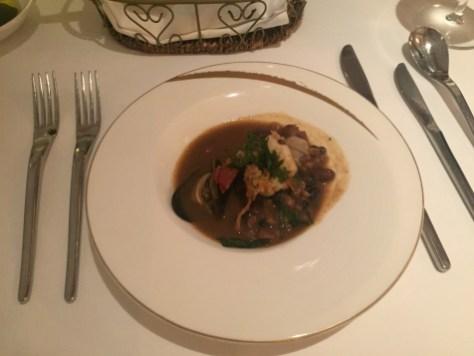 St Regis Singapore - Labrezza restaurant bean soup