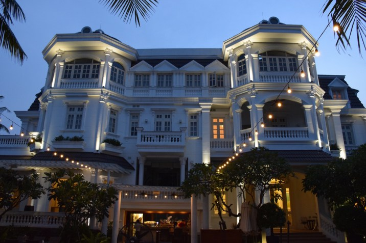 Villa Song Saigon - Riverside at sunset