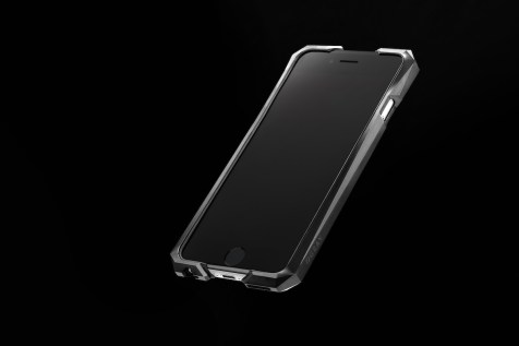Advent by Gray - iPhone 6/6s Mechanically Textured case with black rubber