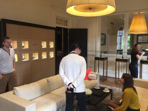 Vacheron Constantin Mansion Shanghai - Private lounge