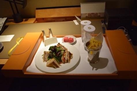 Room service - Club sandwich