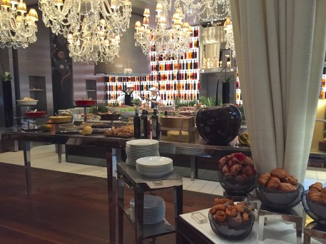 New Year brunch at Le Royal Monceau