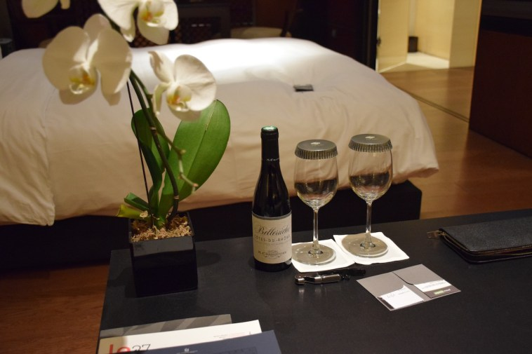 Grand Room - Welcome amenities