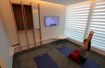 Yoga's room