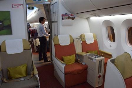 Air India Executive Class - Cabin