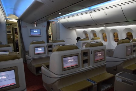 Air India Executive Class - Cabin