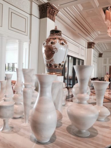 Palazzo Versace Dubai - Limited edition Versace urns
