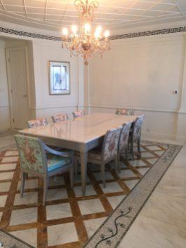 Palazzo Versace Dubai - Residence suite dining room