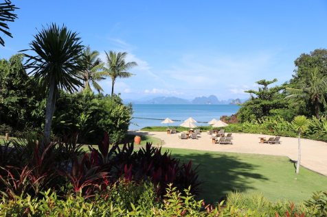 Mai Thai Beach, private resort's beach