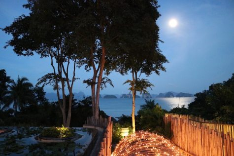 Full moon from The Den