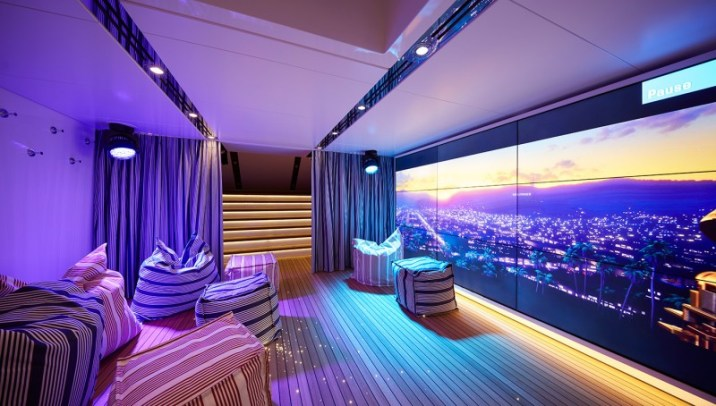 Home cinema - @feadship picture