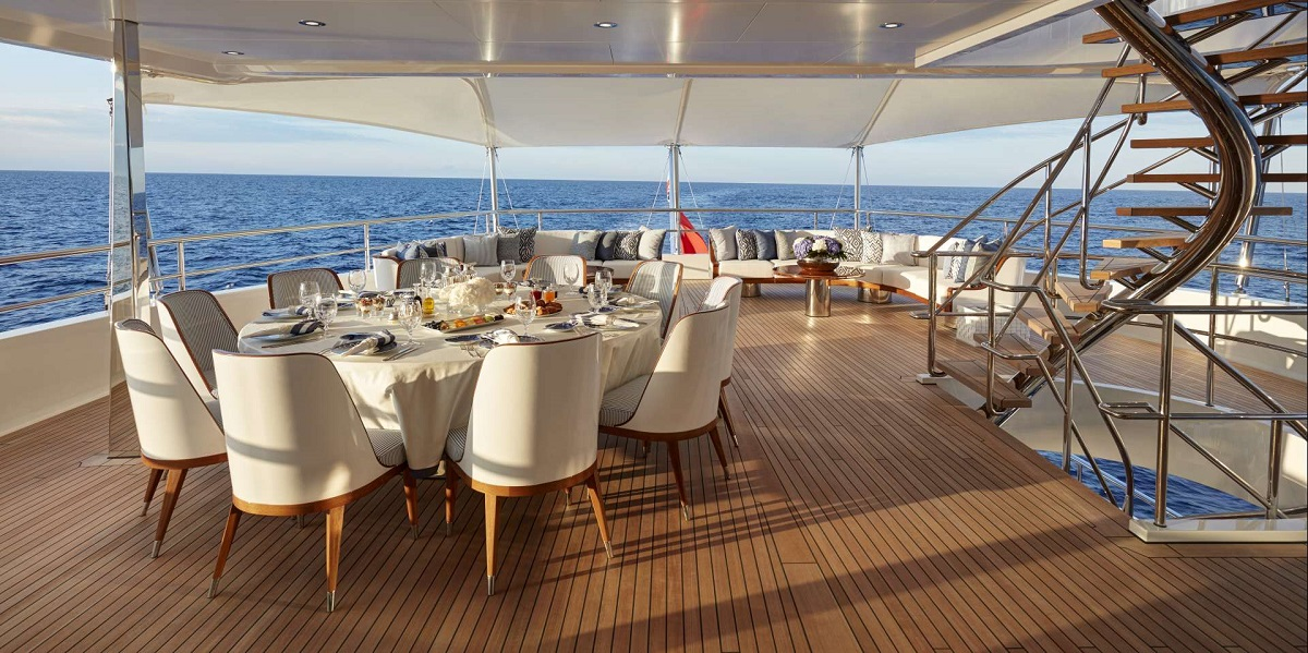 Upper deck - @feadship picture