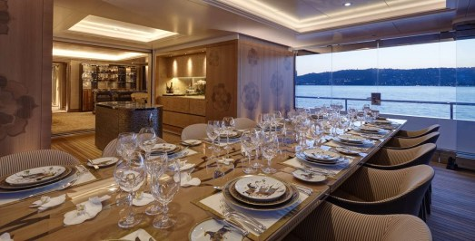 Dining table - @feadship picture