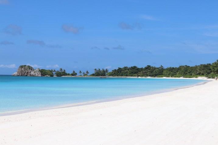 Beach on West side